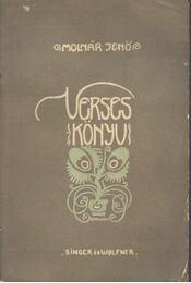 Verses könyv (dedikált) - Régikönyvek