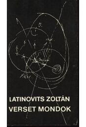 Latinovics Zoltán - Verset mondok - Régikönyvek
