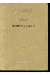Fejlődéslélektan - Régikönyvek