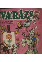 Varázs Magazin 1985. augusztus - Régikönyvek