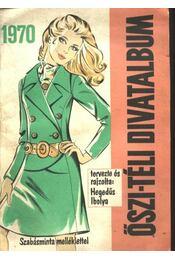 Divatalbum őszi-téli 1970 - Régikönyvek