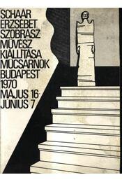 Schaár Erzsébet szobrászművész kiállítása - Régikönyvek
