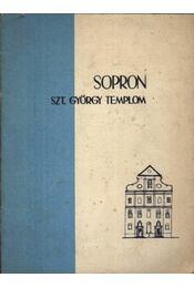 Sopron Szt. György templom - Régikönyvek