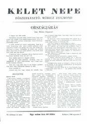 Kelet népe - VI. évfolyam, 15. szám - Régikönyvek