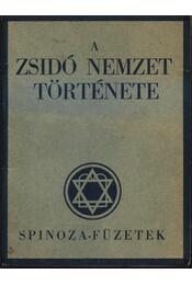 A zsidó nemzet története - Régikönyvek