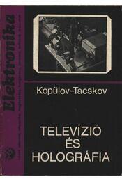 Televízió és holográfia - Régikönyvek