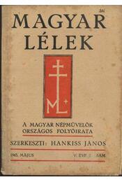 Magyar Lélek 1943. május - Régikönyvek