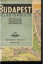 Budapest belső területe - Régikönyvek