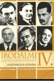 Irodalmi szöveggyűjtemény IV. - Régikönyvek