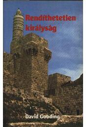 Rendíthetetlen királyság - Régikönyvek