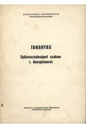 Tananyag - Régikönyvek
