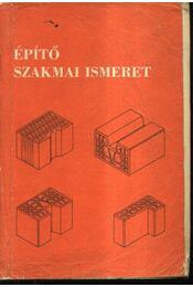 Építő szakmai ismeret - Régikönyvek