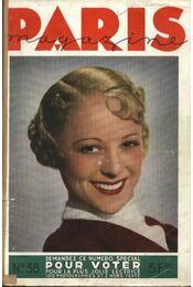 Paris magazine 1934. 38. szám - Régikönyvek