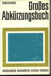 Großes Abkürzungsbuch - Régikönyvek
