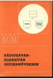 Rádiózavar-elhárítás gépjárművekben - Régikönyvek