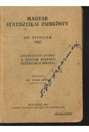 Magyar Statisztikai Zsebkönyv 1947. - Régikönyvek