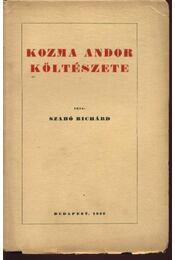 Kozma Andor költészete (dedikált) - Régikönyvek