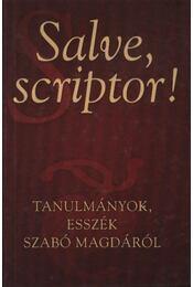 Salve, scriptor! - Régikönyvek