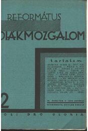 Református Diákmozgalom 1929. október - Régikönyvek