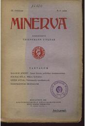 Minerva 1930 IX.évfolyam 5-7.szám - Régikönyvek