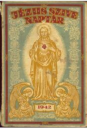 Jézus szíve naptár 1942 - Régikönyvek