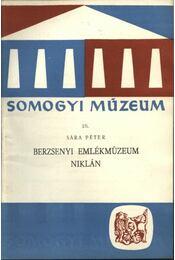 Berzsenyi emlékmúzeum Niklán - Régikönyvek