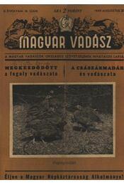 Magyar Vadász (1949. május 5.) - Régikönyvek