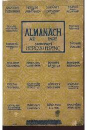 Mikszáth Almanach az 1921-ik évre - Régikönyvek