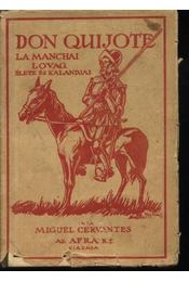 Don Quijote - Régikönyvek