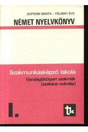 Német nyelvkönyv I. (szakács-cukrász) - Régikönyvek