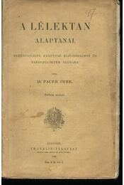 A lélektan alaptanai - Régikönyvek