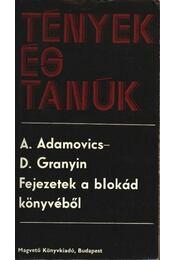Fejezetek a blokád könyvéből - Régikönyvek