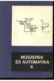 Műszerek és automatika II. - Régikönyvek