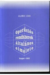 Operációs rendszerek általános elmélete - Régikönyvek