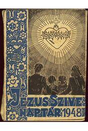 Jézus szíve naptár 1948 - Régikönyvek
