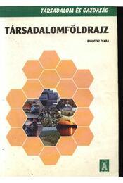 Társadalomföldrajz - Régikönyvek