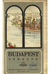 Budapest térképe - Régikönyvek