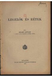 Legelők és rétek - Régikönyvek