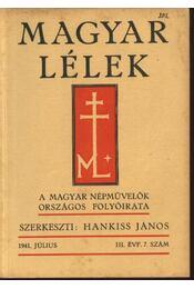 Magyar Lélek 1941. július - Régikönyvek