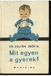 Mit egyen a gyerek? - Régikönyvek