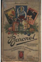Baronet, különlegességek árjegyzéke - Régikönyvek
