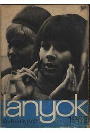 Lányok évkönyve 1968 - Régikönyvek