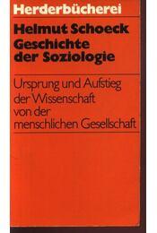 Geschichte der Soziologie - Régikönyvek