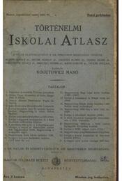 Történelmi iskolai atlasz - Régikönyvek