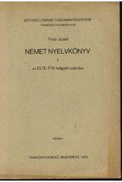 Német nyelvkönyv az ELTE-TTK hallgatói számára - Régikönyvek