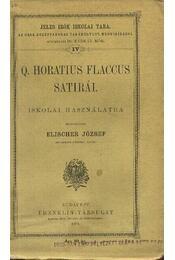 Q. Horatius Flaccus satirái - Régikönyvek