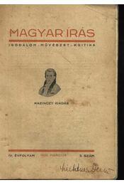 Magyar írás - Régikönyvek