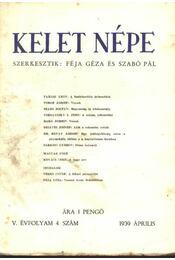 Kelet népe IV. évfolyam, 4. szám - Régikönyvek