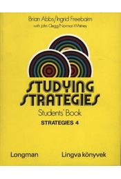 Studying strategies 4 (Student's book + workbook) - Régikönyvek