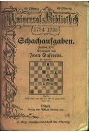 Schachaufgaben II. - Régikönyvek